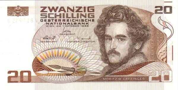 Austria 20 Schilling