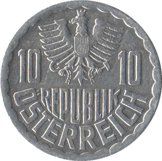 Austria 10 Groschen