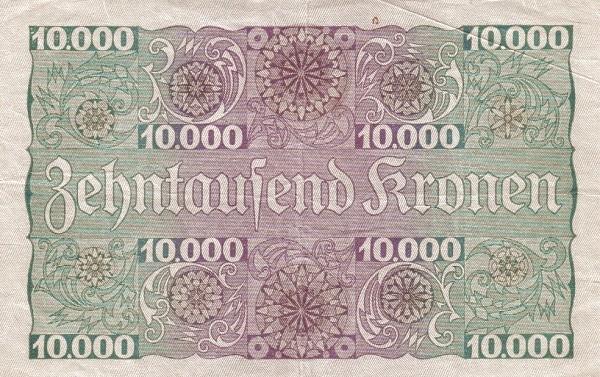 Austria 10000 Kronen (1924 Oesterreichische Nationalbank)