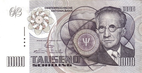 Austria 1000 Schilling (1982 Oesterreichische Nationalbank)