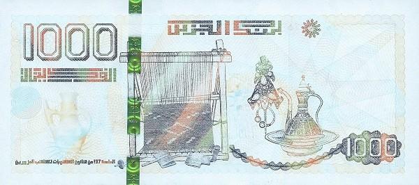 Algeria 1,000 Dinars (2019)