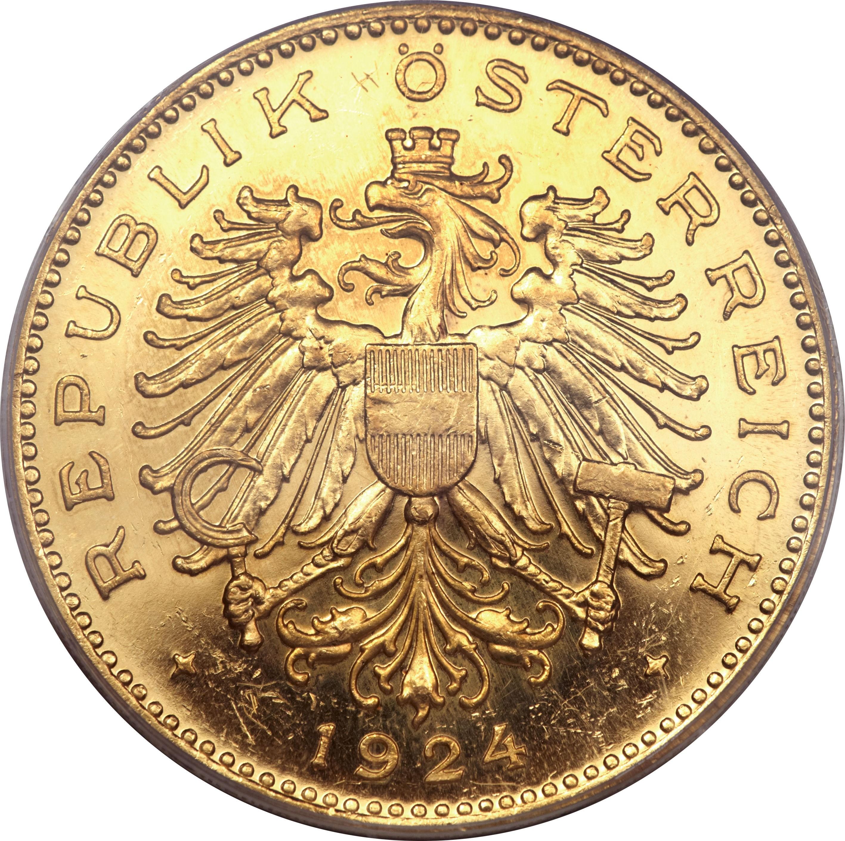 Austria 100 Kronen (1923-1924)