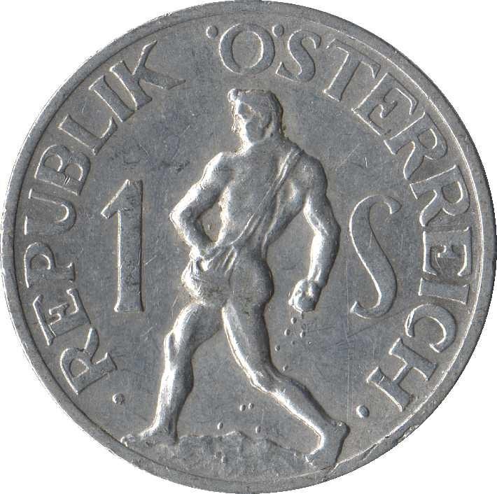 Austria 1 Schilling (1946-1957)