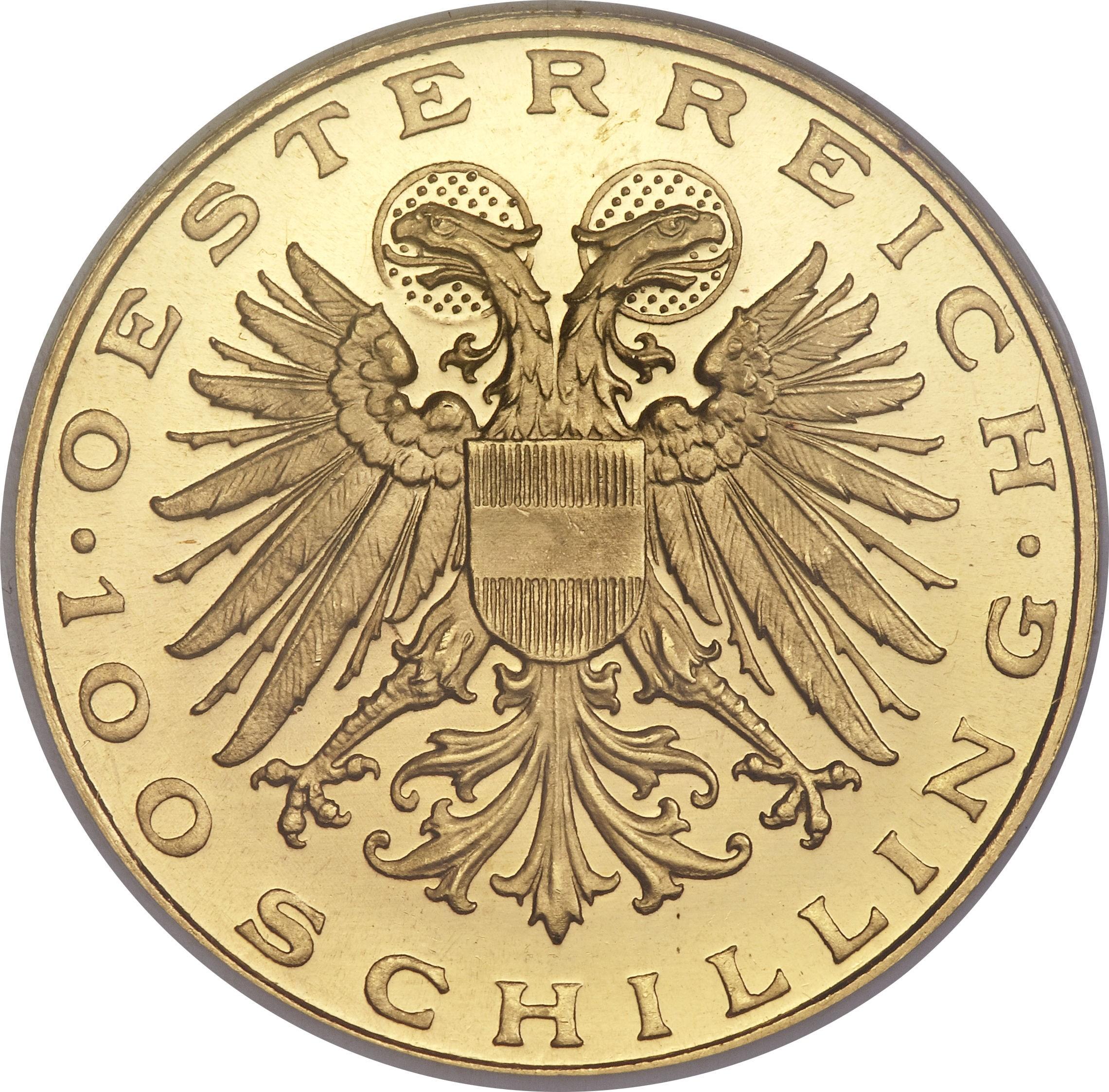 Austria 100 Schilling (1935-1938)